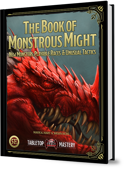 The Book of Monstrous Might PRINT PRE-ORDER