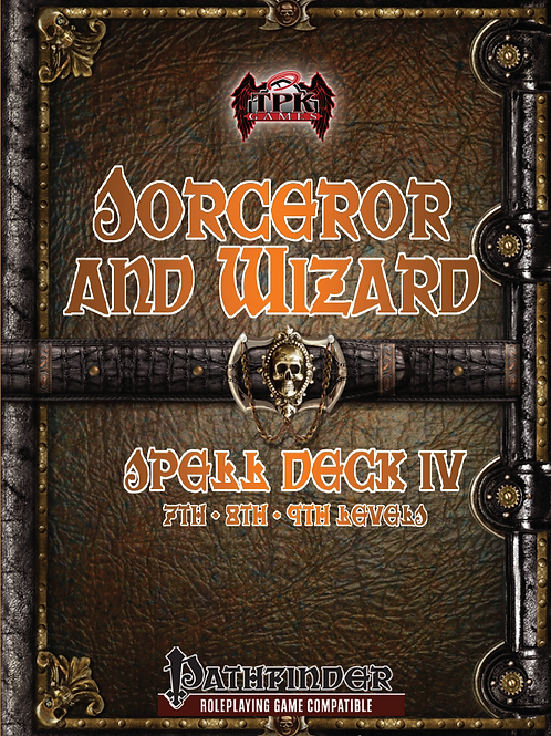Sorcerer/Wizard Spell Deck IV (7th-9th)