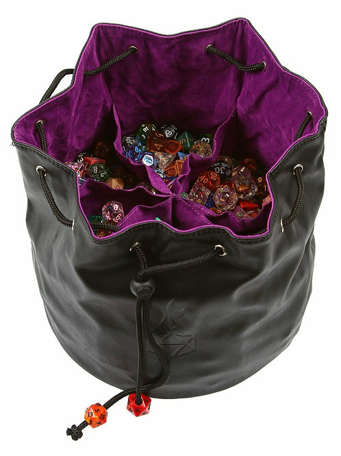Purple Dice Hoard Storage Bag