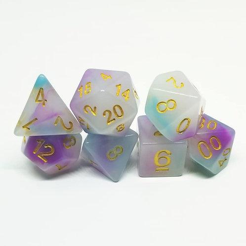 Will o' Wisp Polyhedral 7-Die Dice Set
