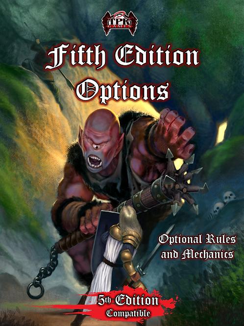 Fifth Edition Options (PDF)