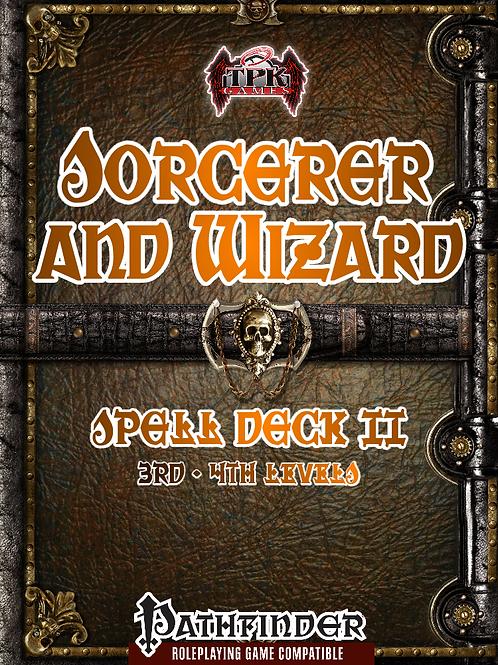 Sorcerer/Wizard Spell Deck II [PF]