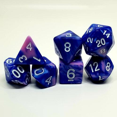 Valkyrie's Kiss 7 die set polyhedral dice