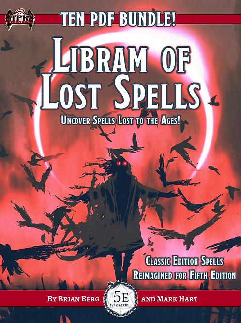 Libram of Lost Spells 10 PDF Bundle