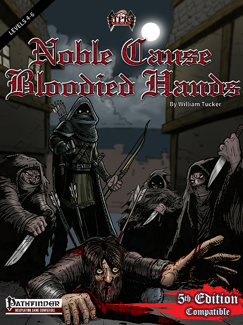 copy of Noble Cause, Bloodied Hands (Print & PDF)