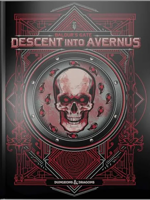 Descent to Avernus (Variant Cover) 5E