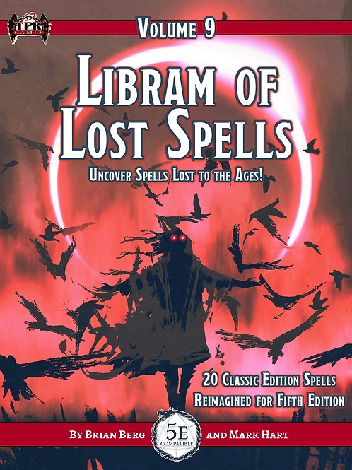 Libram of Lost Spells, vol. 9