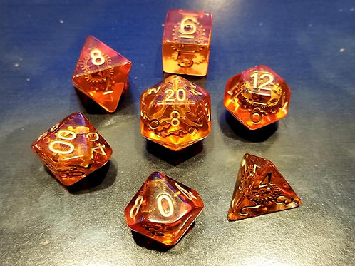 Gearforged Dice Set
