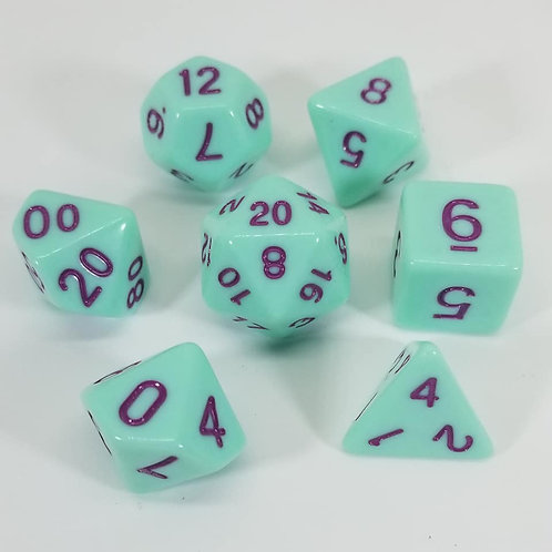Mint Crit Dice Set