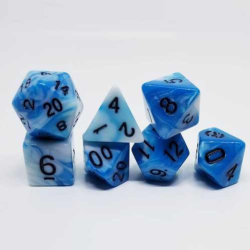 Frost Touch Polyhedral 7-Die Dice Set