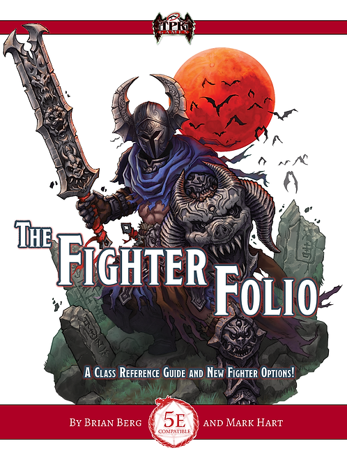 The Fight Folio PRINT [DnD]