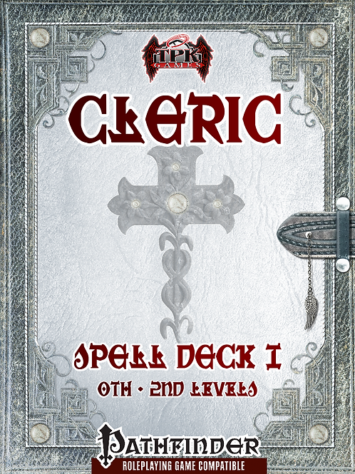 Cleric Spell Cards I [PF]