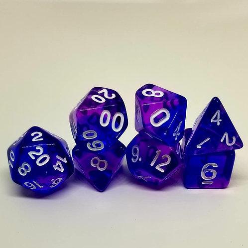 Dark Magus 7 Die Set Polyhedral Dice