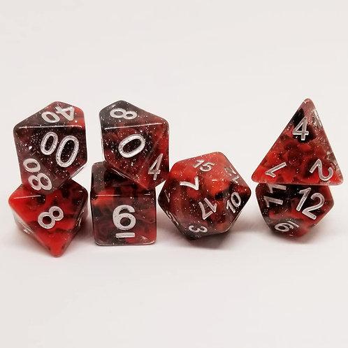 Primal Chaos 7 Die Set Polyhedral Dice