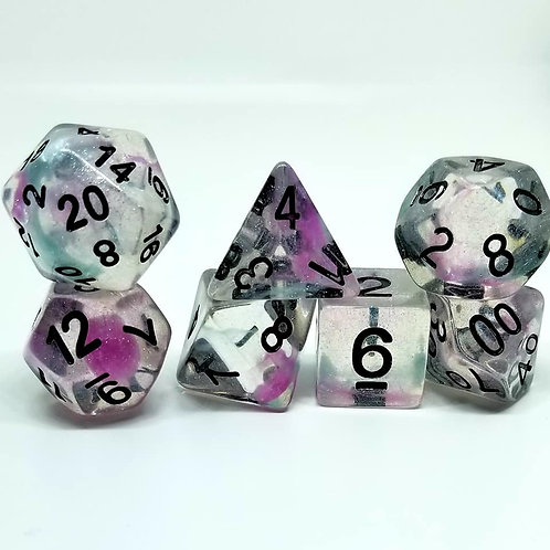 Spellsmoke Polyhedral 7-Die Dice Set