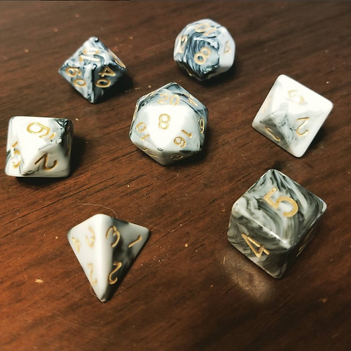 Imperial Marble Dice