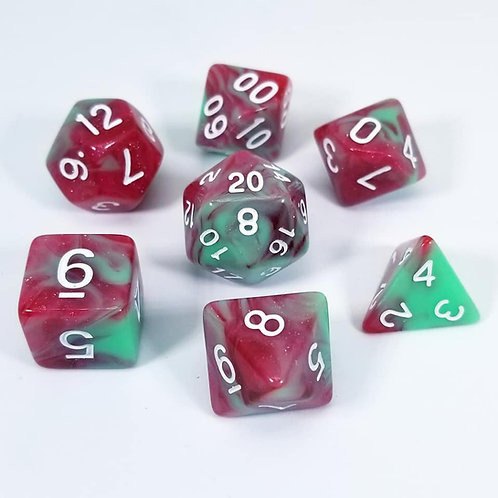 Bloodthorn Dice Set