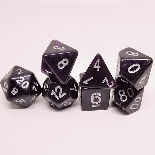 Void Shift 7 Die Set Polyhedral Dice