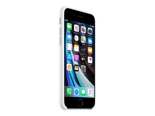 Apple Silikondeksel SE (2020), Hvit Deksel til iPhone SE (2020)