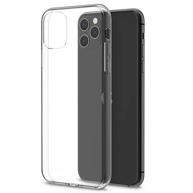 dfrnt Clear Cover iPhone 12/12 Pro (6.1) Acrylic/TPU deksel, Transparent
