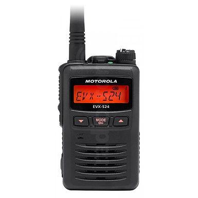 Motorola EVX S24 PMR radio, analog og digital