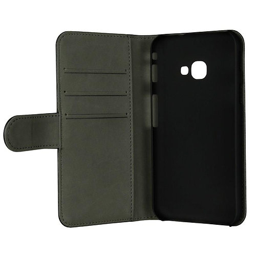 Gear Wallet Xcover 4s/4, Svart Lommebokveske for Galaxy Xcover 4/4s