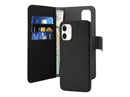 Puro Wallet Magnet iPhone 11 Lommebokveske m/Magnet for iPhone 11