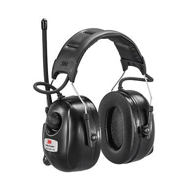 Peltor DAB+/FM radio sort med hodebøyle