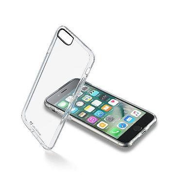 CL Clear Duo iPhone SE(2020)/8/7 Plastdeksel m/gummiramme, gjennomsiktig