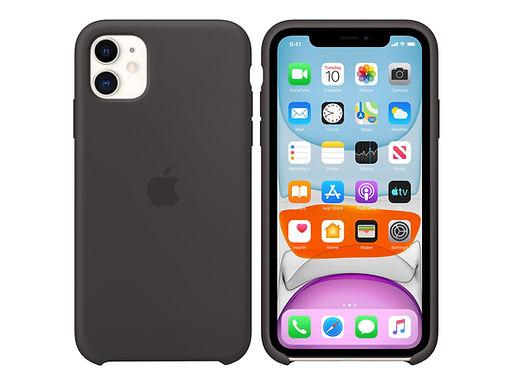Apple Silikondeksel 11 Pro Max, Svart Deksel til iPhone 11 Pro Max