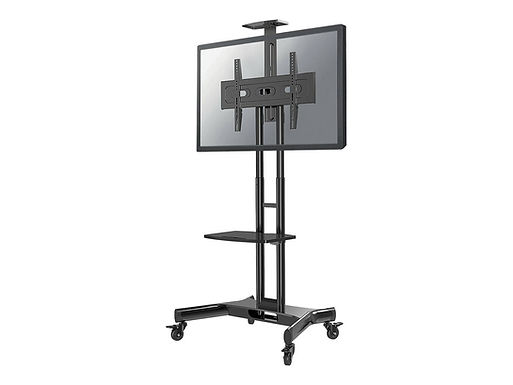 NEWSTAR NeoMounts NM-M1700BLACK Mobile Monitor/TV Floor Stand 32-75inch 45kg VES