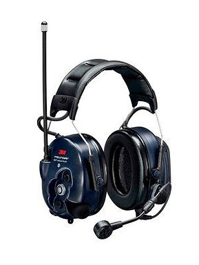 PELTOR  WS LiteCom PRO III Headset, 33 dB, 403–470 MHz, analog/digital, hod