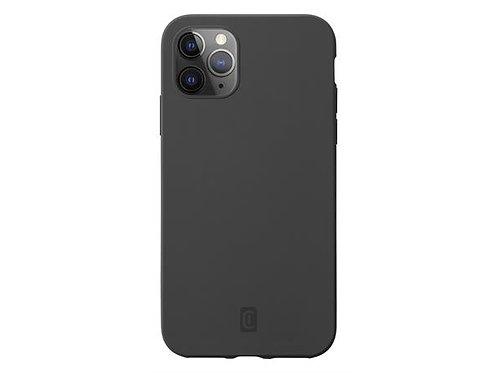 CL Sensation iPhone 12/12 Pro, Svart Silikondeksel