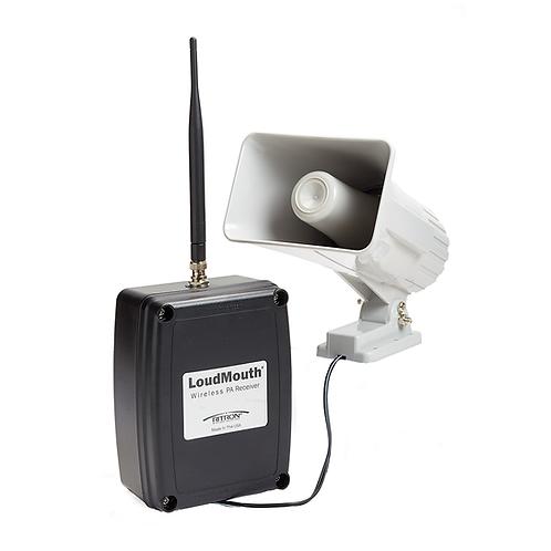 Loudmouth trådløst varslings system via radio-walkie-talkie