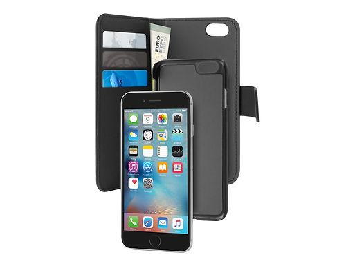 Puro Wallet Magnet iPhone 8/7 Lommebokveske m/Magnet for iPhone SE /8/7/6S