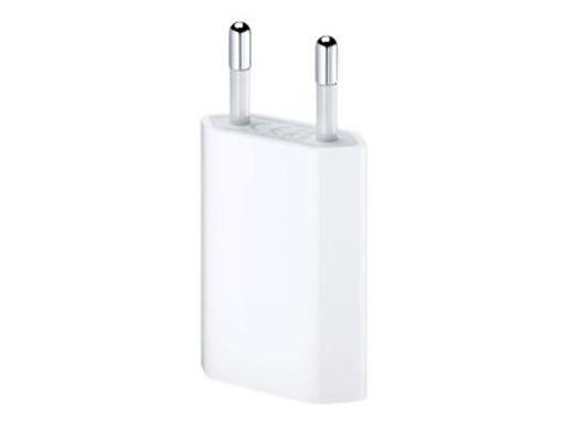 Apple Vegglader 5W USB-A utgang, u/kabel Hvit