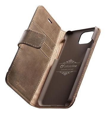 CL Supreme iPhone 11, Brun Lommebokveske for iPhone 11