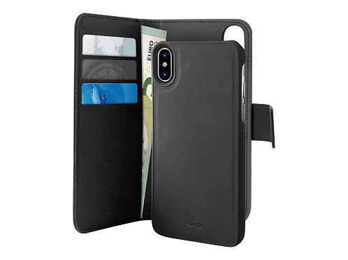 Puro Wallet Magnet iPhone XR Lommebokveske m/Magnet for iPhone XR