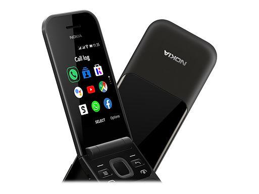Nokia 2720 Flip 4GB DS, Black KaiOS, Dual SIM