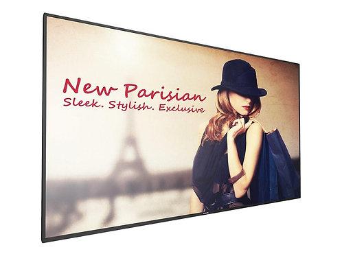 "Philips D-Line 98"" Edge Android 24/7 500 nits, 3xHDMI,DP,DVI,VGA,mPCIe,WiFi"