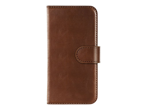IDEAL Magnet Wallet+ - Lommebok for mobiltelefon - brun - for Apple iPhone 11