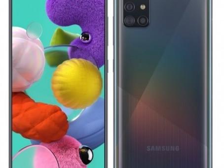 Prisgunstig Galaxy A71 med fingeravtrykkleser i skjermen