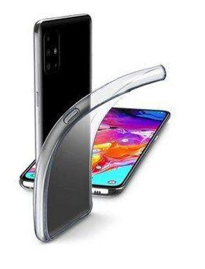 CL Fine Galaxy A71 Gummideksel, gjennomsiktig