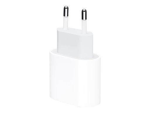 Apple vegglader 20W USB-C utgang, u/kabel Hvit