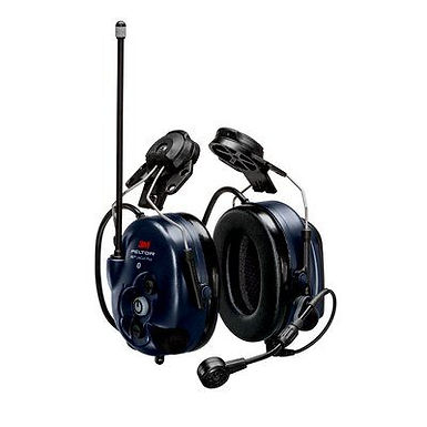 PELTOR  WS LiteCom PRO III Headset, 33 dB, 403–470 MHz, analog/digital, hjelm