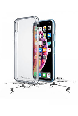 CL Clear Duo iPhone XR Plastdeksel m/gummiramme, gjennomsiktig