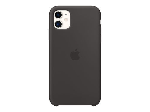 Apple Silikondeksel 11, Svart Deksel til iPhone 11