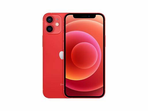 Apple iPhone 12 Mini rød