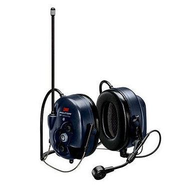 PELTOR  WS LiteCom PRO III Headset, 33 dB, 403–470 MHz, analog/digital, nakkebøl