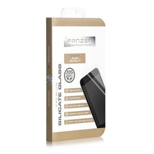 Panzer Silicate Glass iPhone SE/ 8/7/6s Skjermbeskytter, Herdet Silicate Glass
